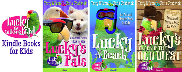 Lucky the Talking Bird kindle books